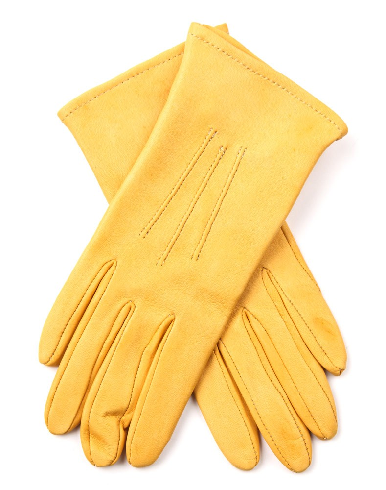 Mens yellow gloves - Mens Leather Showing Gloves