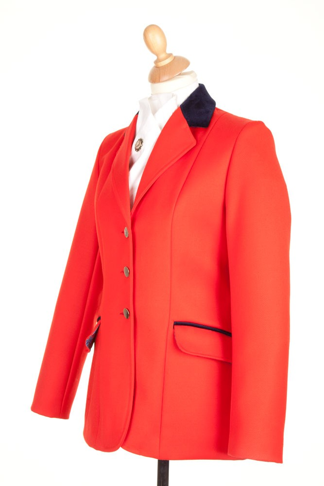 Ladies Red Show Jumping Jacket