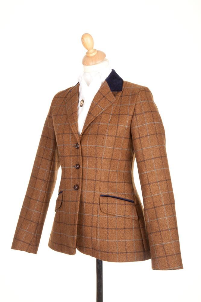 Childrens PP006 Tweed Riding Jacket - Tweed Riding Jackets ...