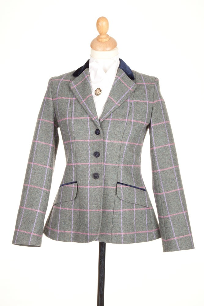 Ladies Pp0026 Tweed Riding Jacket Tweed Riding Jackets