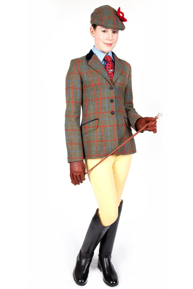 Pp0035 Tweed Show Jacket