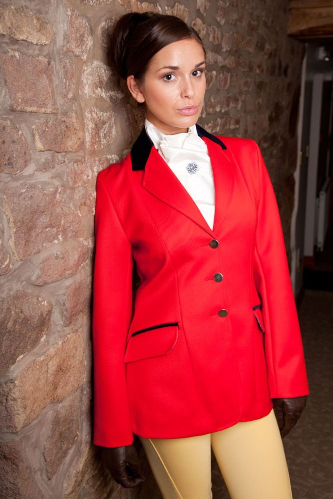 Ladies Red Show Jumping Jacket Navy Amp Black Show Jackets
