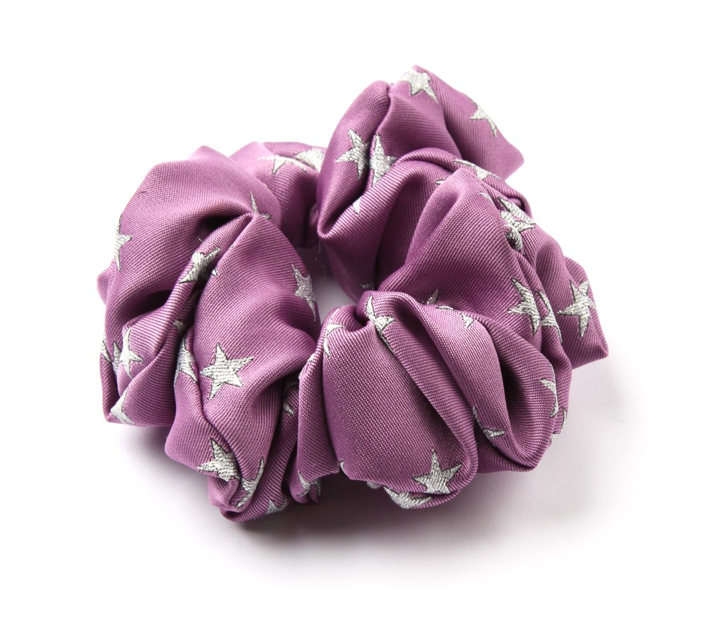Lurex Star Scrunchie Scrunchie Hair Accessories