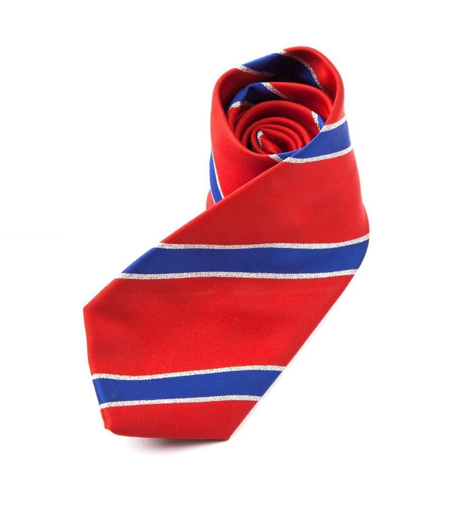 Lurex Stripe Tie