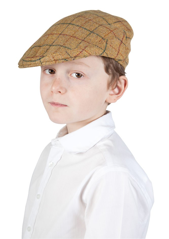 Plain Tweed Flat Cap