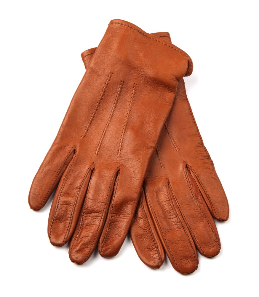 Mens Leather Showing Gloves
