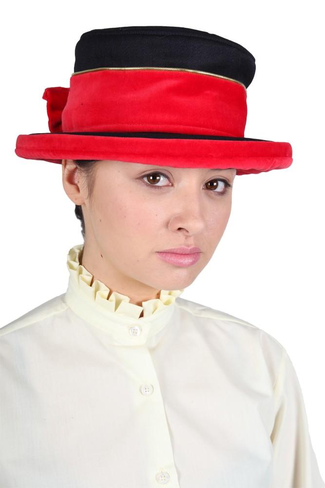 Show Pony Gold Trim Lead Rein Hat