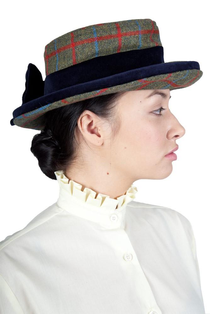 Tweed Lead Rein Hat