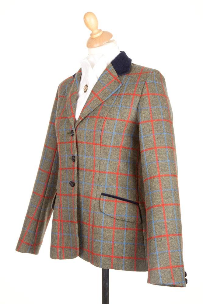 Ladies PP0035 Tweed Riding Jacket