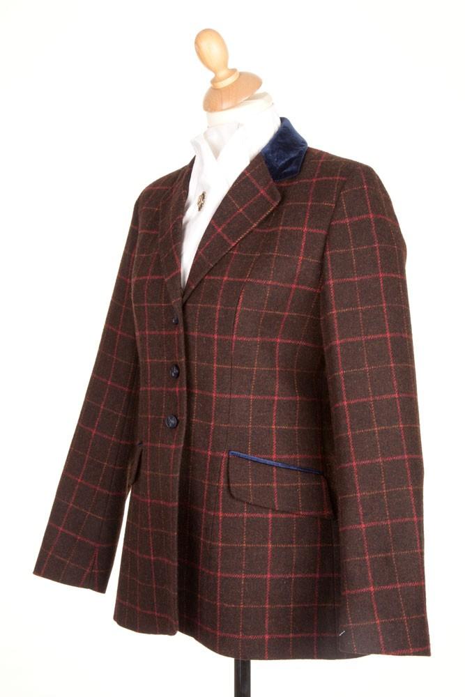 Ladies PP0033 Tweed Riding Jacket