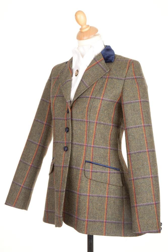 Ladies PP0028 Tweed Riding Jacket