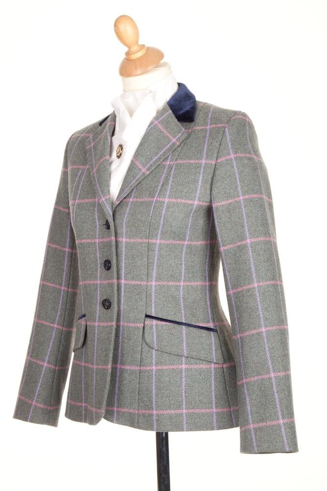 Ladies PP0026 Tweed Riding Jacket