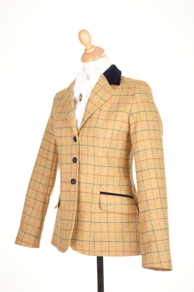 Childrens PP004 Tweed Riding Jacket