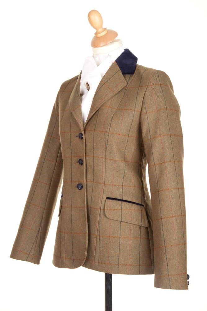 Ladies PP0025 Tweed Riding Jacket