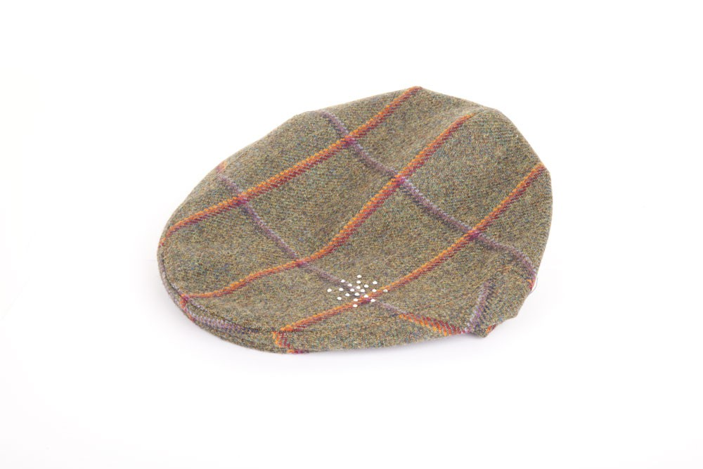 Diamante Flat Cap