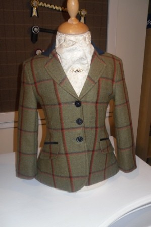 Bespoke Tweed Jacket 44507