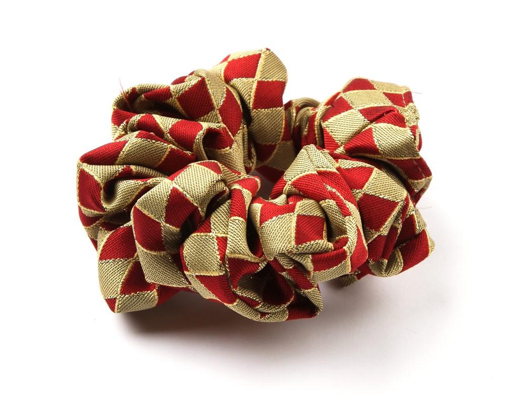 Harlequin Scrunchie