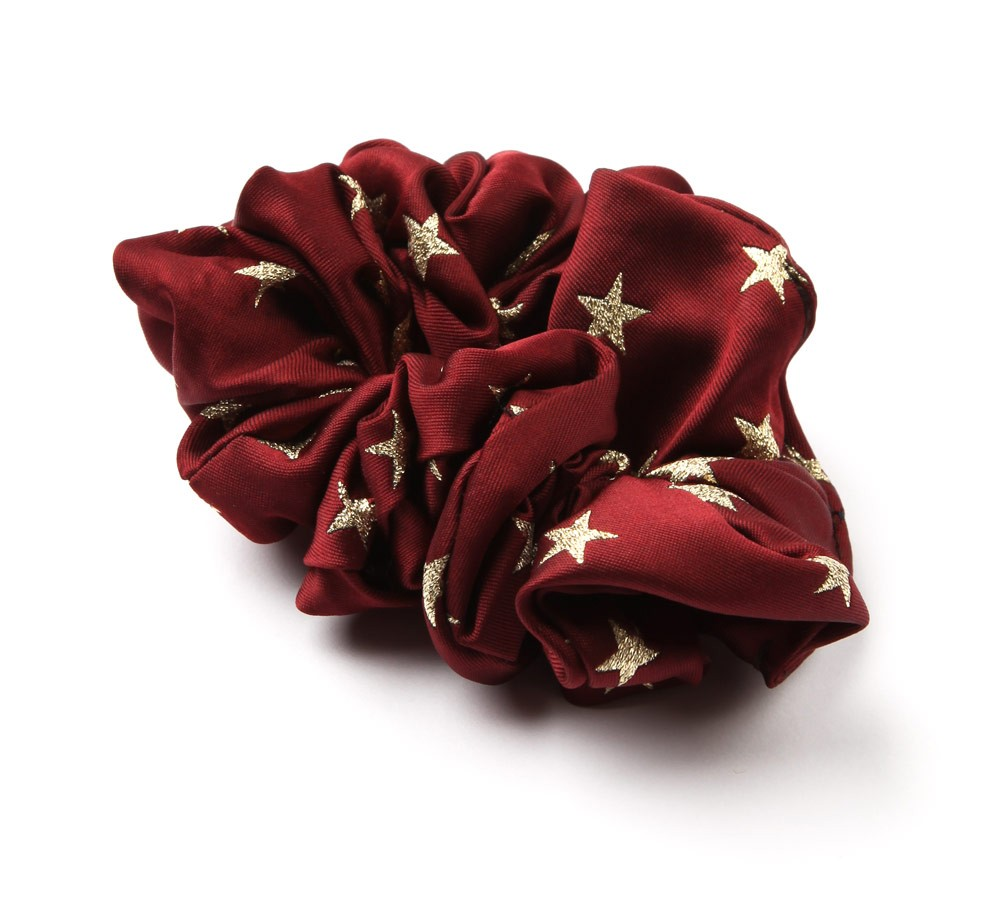 Lurex Star Scrunchie