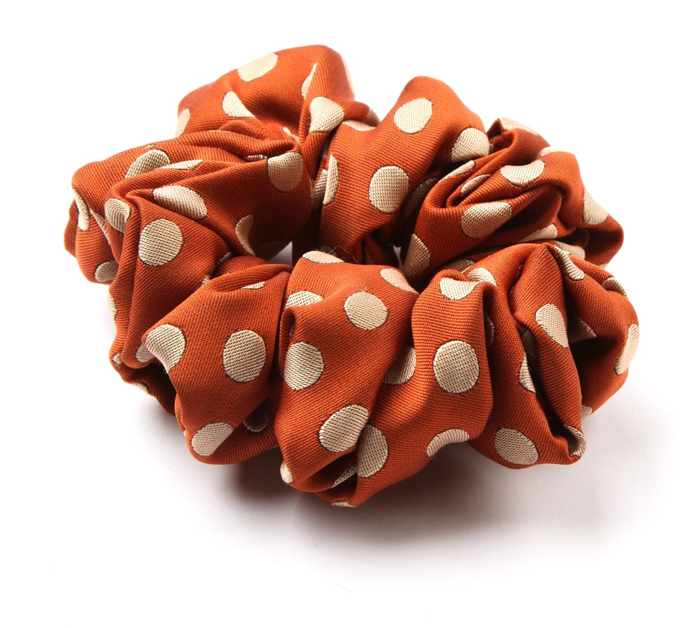 Large Spotty Scrunchie