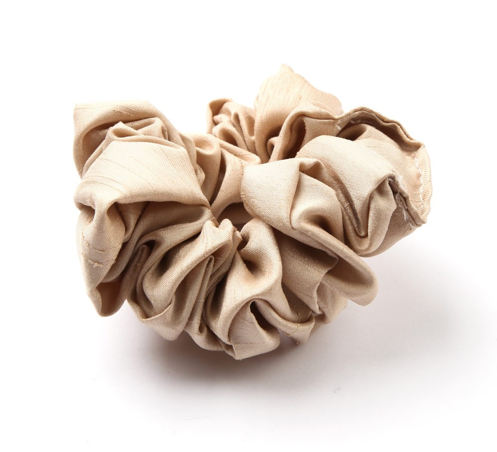 Silk Stock Scrunchie