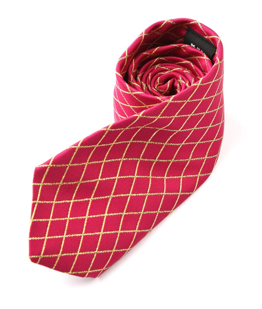 Lurex Diamond Tie